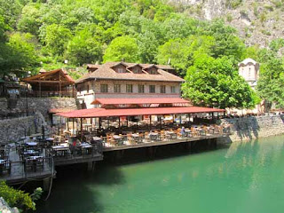Restaurant Lake Matka Macedonia
