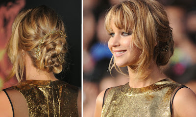 Jennifer Lawrence penteado