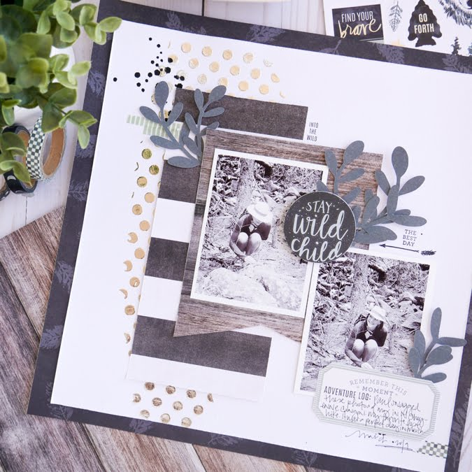 How To Stay a Wild Child with Heidi Swapp Wolf Pack by Jamie Pate | @jamiepate for @heidiswapp