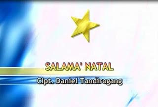 Lagu Salama' Natal (Daniel Tandirogang)