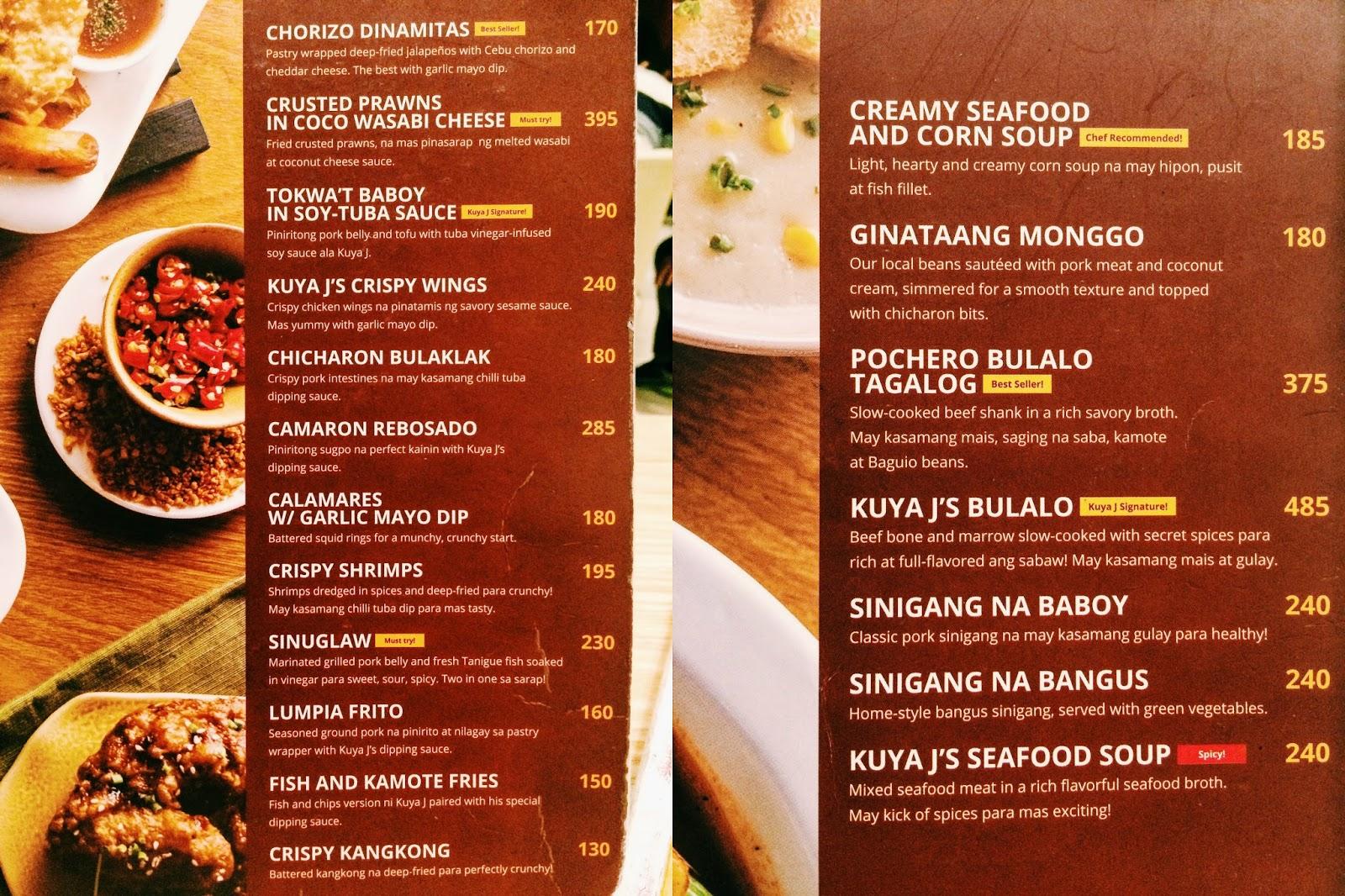 Ask Restaurant Menu Prices