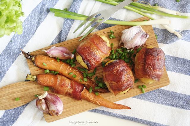 grillowane ziemniaki, co na grilla? , jak zrobić ziemniaki z grilla? daylicooking, przekąski na lato, co zabrać w plener do jedzenia?