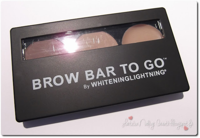WHITENINGLIGHTNING Brow Bar To Go  Kit à Sourcils