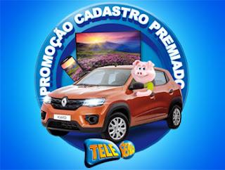 Promoção Tele-Sena Cadastro Premiado 2019