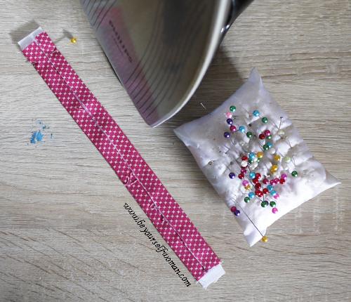 diy membuat gelang kain