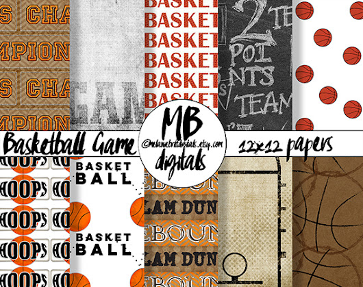 GIVEAWAY! Comment to win my new basketball papers.