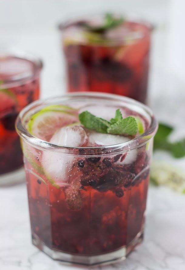 Blackberry Lavender Cocktail