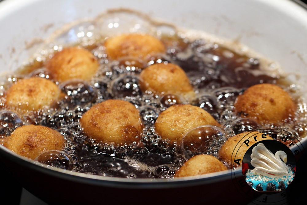 Boules de coco africaines