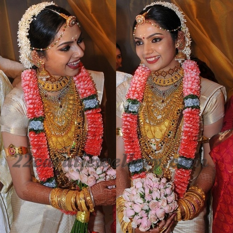 Samvritha Sunil Wedding Jewellery Jewellery Designs