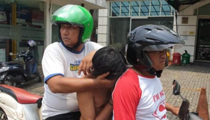 Dua Jambret Beraksi di Depan Minimarket Diringkus Polisi