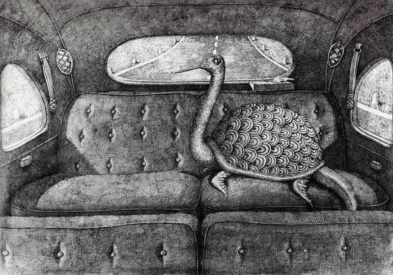 10 ilustradores más reconocidos, Edward Gorey