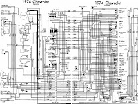 1974 Chevrolet K 10 Wiring Diagram
