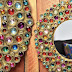 This Stunning Bejeweled Mirror Is So Cheap And Easy You'll Never Guess What He Used!