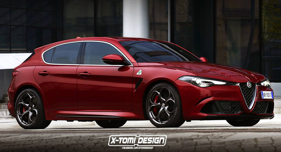 Alfa Romeo Should Make A New Giulietta To Look Just Like This
