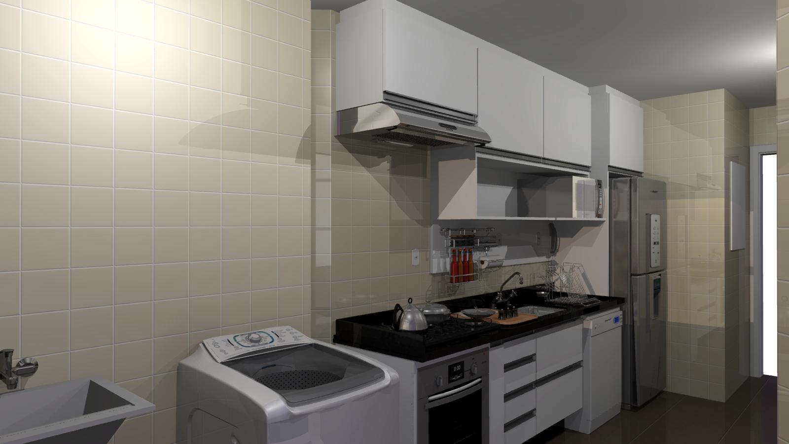 Cozinha Planejada Moderna Apartamento Pequeno Cozinha Planejada