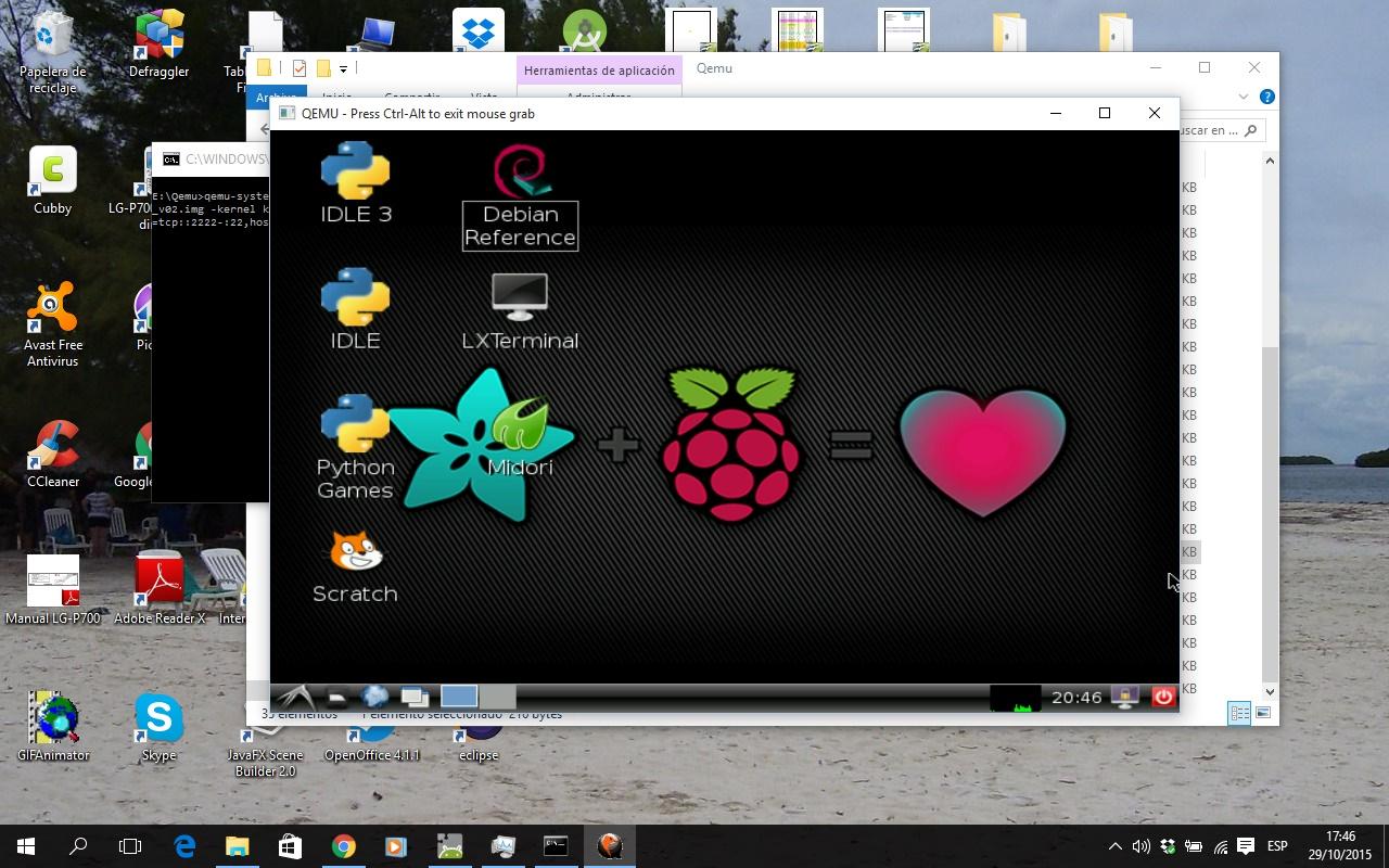 Soft danojpa: QEMU Emulador para RaspberryPi