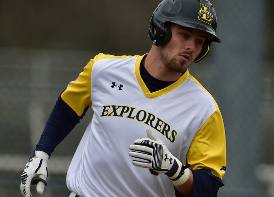 Tommy Toal collected two hits on the day for the Explorers