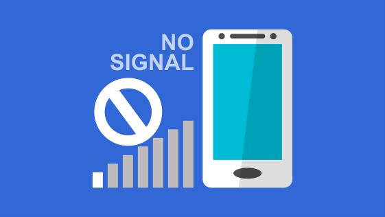 Tidak ada sinyal