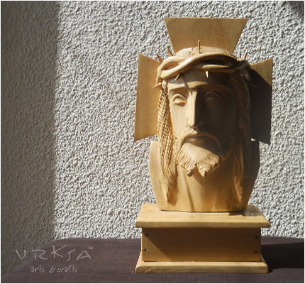 Vrksa Arts Amp Crafts Jesus Wooden Sculpture