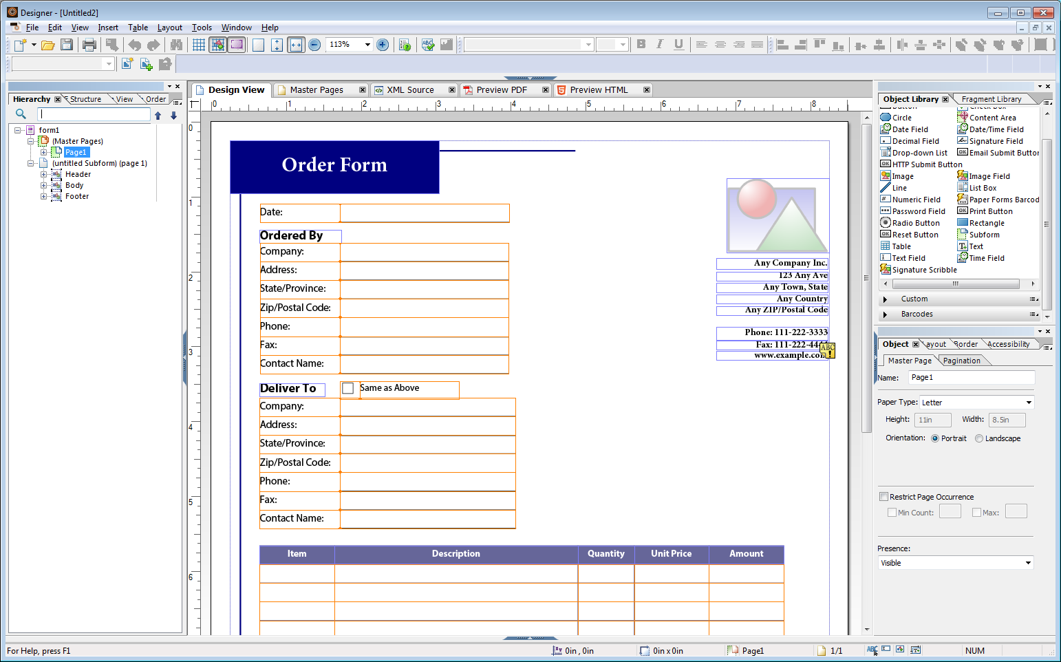 LiveCycle Blog: AEM Forms Designer Demoversion//AEM Forms Designer ...