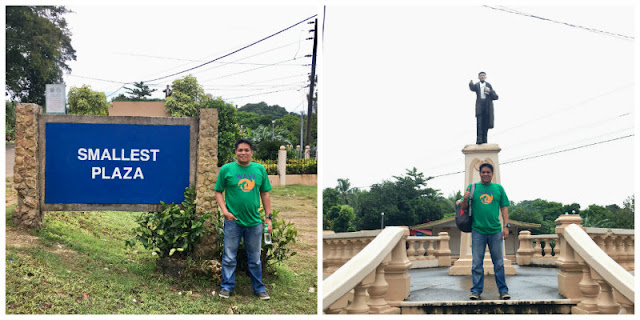 The Smallest Plaza in Guimaras Island used to be the holder of Guinness Book of World Records for having the smallest plaza in world but it still remained the smallest plaza in the Philippines.