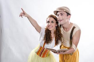 Pátio Alcântara anima a criançada com a peça 'O Diário de João e Maria'