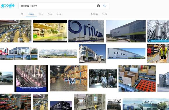 oriflame-factory-location