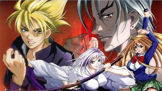 Tenjou Tenge - Daftar Anime Martial Arts Terbaik dan Terpopuler