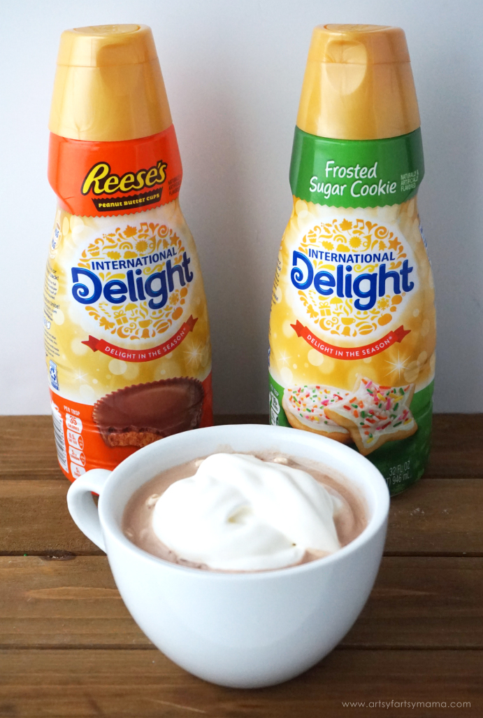 Homemade Hot Cocoa Mix recipe! #DelightfulMoments