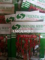 Produk Benih Oriental Seed, Oriental Seed Indonesia, Jual benih cabe murah, LMGA AGRO, OR Twist 42