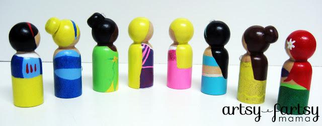 Broholo Cenk Princess Peg Dolls