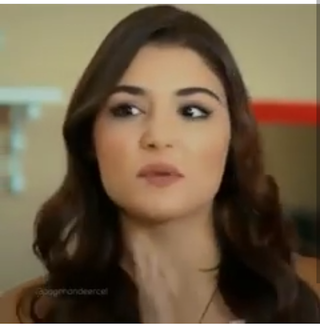 The girl from Hayat and Murat is Supercute