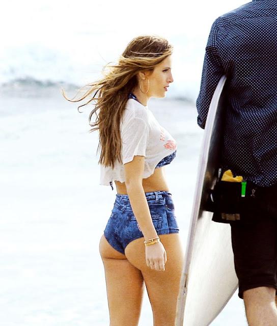 Bella Thorne Hot Photoshoot on Malibu Beach