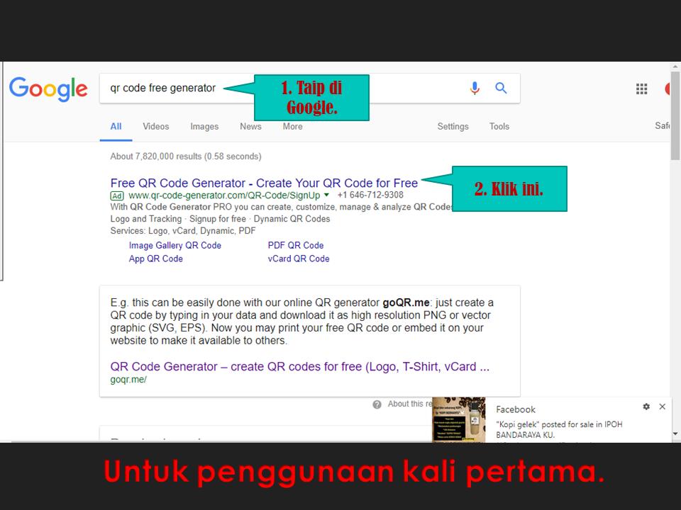 Blog Norazlin Mohd Rusdin Guru Advokasi Frogasia : QR Code