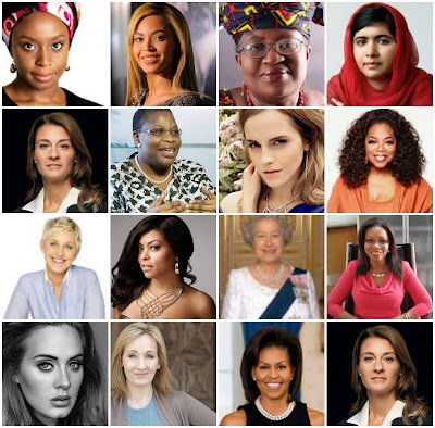24 Most Reputable women on Earth 2017