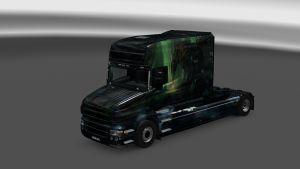 Ancient Dragon Skin for Scania T
