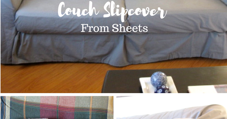 Scribbles From Emily How To Make A Couch Slipcover From