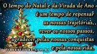 Frases de Feliz Natal e Prospero ano Novo