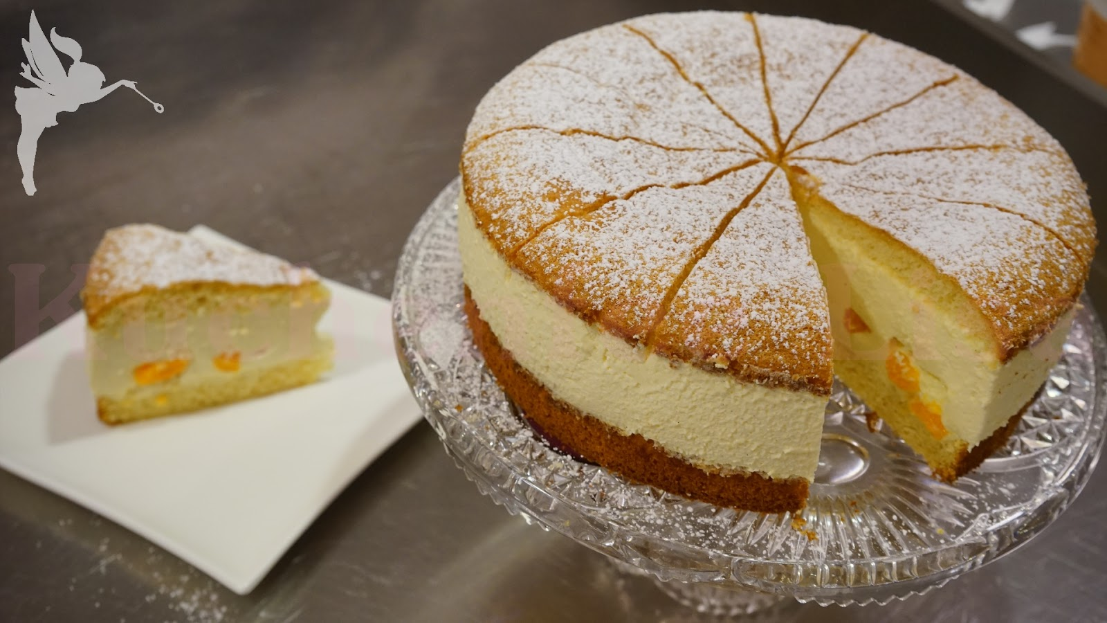 Klassische Kasesahne Torte