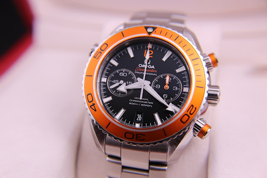 [FOR SALE] OMEGA SEAMASTER PLANET OCEAN AUTOMATIC CHRONOGRAPH ORANGE BEZEL COAXIAL 9300 (FULLSET)