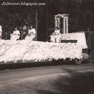 Cradock High School Queens' Float 1966