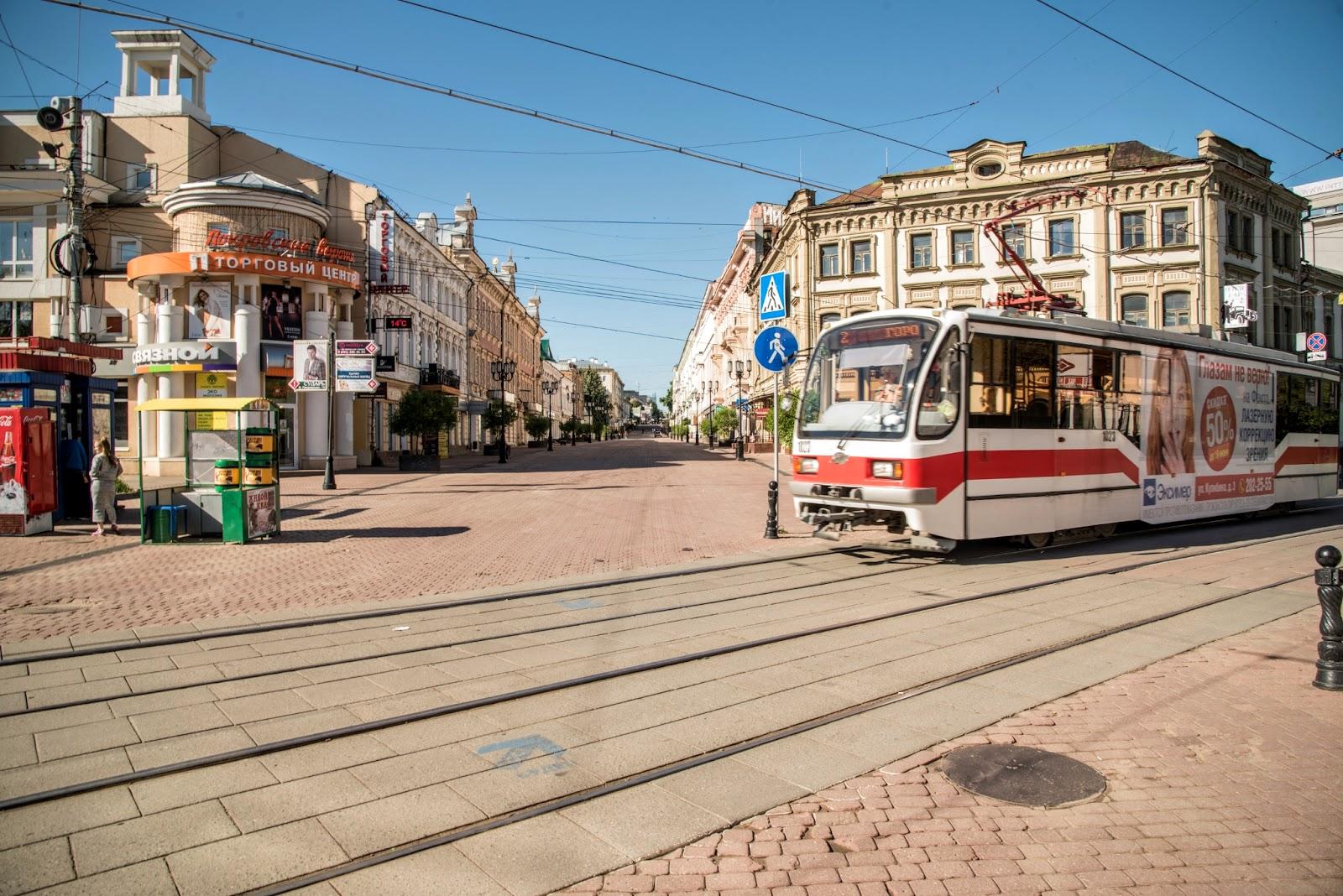 Большая Покровская улица. Фото