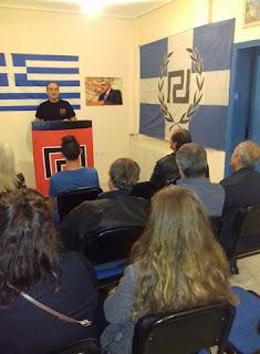 ΔΕΛΤΙΟ ΤΥΠΟΥ - Oμιλία Γ. Χαϊδαλή «ο Εθνικισμός είναι το μέλλον»