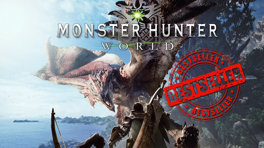 monster hunter world capcom best selling game