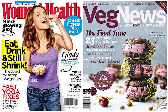healthy magazines vegan