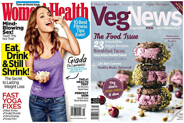 healthy magazines vegan