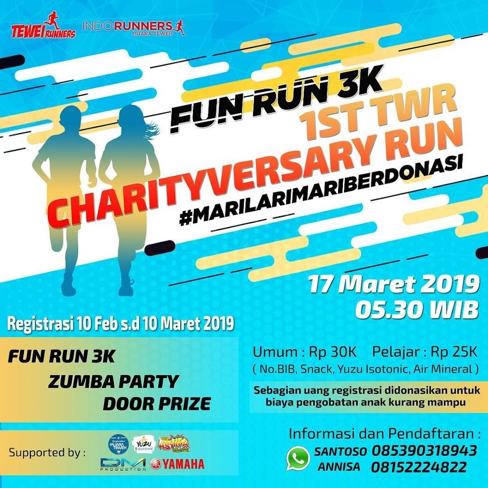 1st TWR Charityversary Run • 2019
