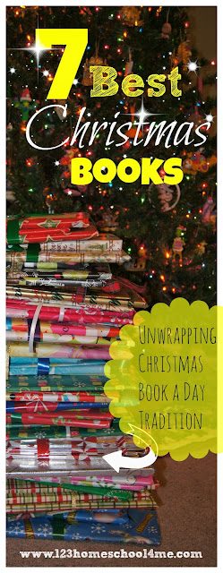 7 Best Christmas Books for Families - this is such a fun christmas tradition, plus these are wonderful recommendations for holiday books kids of all ages will love for toddlers, for preschool, kindergarten, first grade, 2nd grade, and more. FUN Christmas Activity for Kids