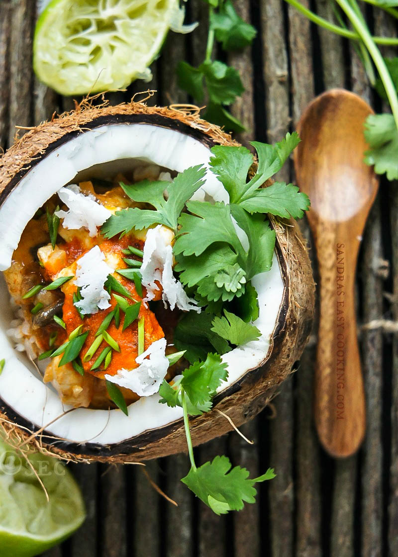 Simple and delicious recipe for easy Thai Chicken Red Curry