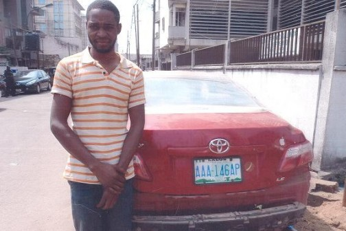 car thief lagos island